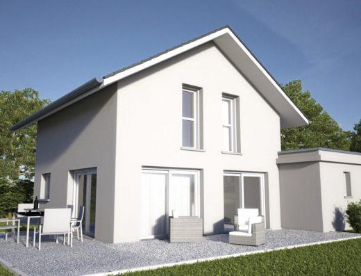 Maison de 90 m² avec 3 chambres en étage