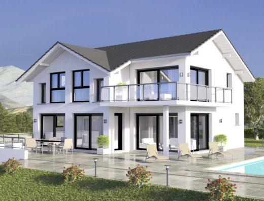 Maison moderne très lumineuse